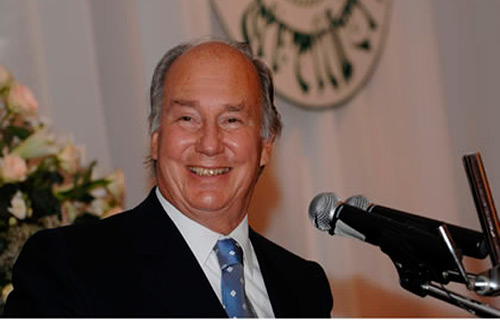 Prince Karim Al Husseini Aga Khan � leader of 15 million Ismaili Muslims