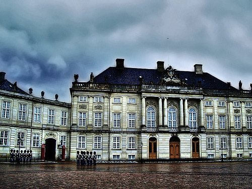 Amalienborg Palace ( winter )