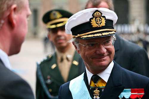 CARL XVI GUSTAF - King of Sweden