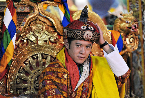 Jigme Khesar Namgyel Wangchuk- The Dragon king of Bhutan
