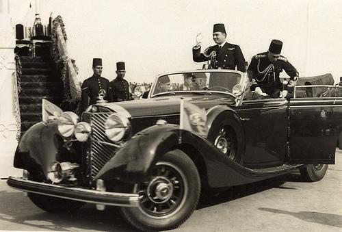 نتيجة بحث الصور عن سيارة هتلر للملك فاروق