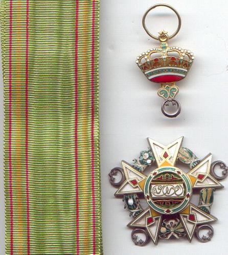 مجموعة من الاوسمة والنياشين ايام الحكم الملكى المصرى